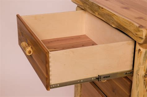 Drawer Dovetail by Barnwood Media Cabinet From Fireside Lodge B14270