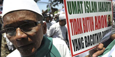 Agama Dan Konflik Sosial ylbhi aksi fpi jegal ahok bisa picu konflik etnis dan