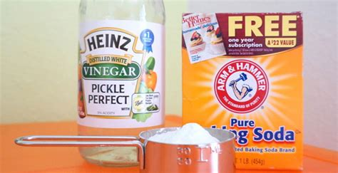 Unique Ways To Use Vinegar Around Your House by 6 Ways To Use Baking Soda And Vinegar Around The House