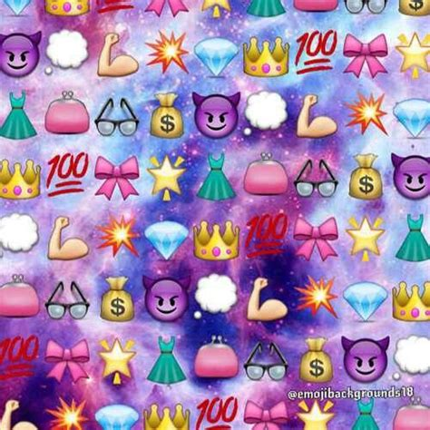 colorful emoji wallpaper girly emoji background wallpapers pinterest