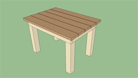 Table Physique by Build Wood Outdoor Table Easy Diy Box Plans Home