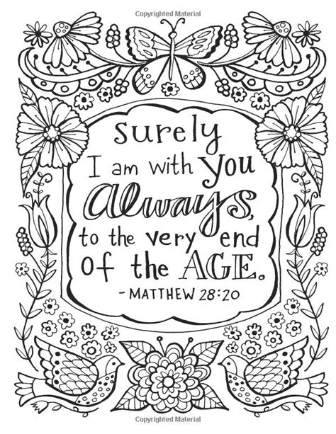 coloring pages with scripture color the promises of god an adult coloring book for your