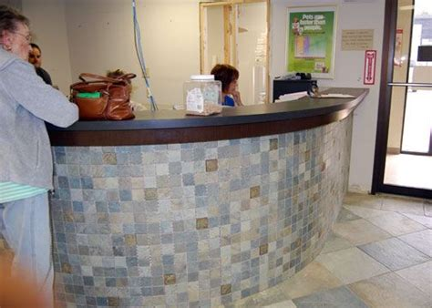 Tiled Reception Desk by 16 Best Reception Desk Ideas Images On Desk