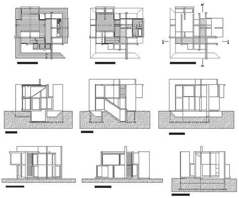 peter eisenman house vi plans house vi tumblr