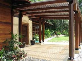 Plastic Pergola Roof by Is This Plastic Nova Roof Over The Pergola Wood For