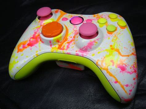 acrylic paint xbox controller 25 best ideas about neon painting on adam