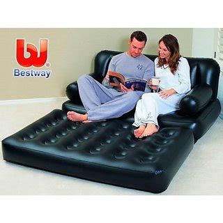 5 in one sofa cum bed bestway portable inflatable 5 in 1 sofa cum bed air lounge