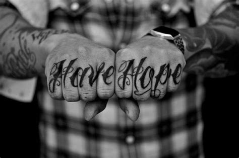 tattoo finger hope 40 stunning knuckle finger tattoos design