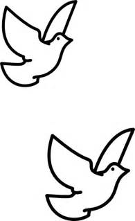 Holy Spirit Dove Outline by Confirmation Clip Clipart Best