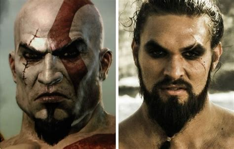 pemeran kratos dalam film god of war this is what jason momoa would look like as kratos from