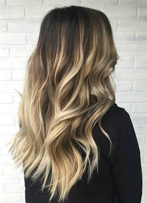 balayage ombre highlights on dark hair balayage highlights ombre haircare stylisted
