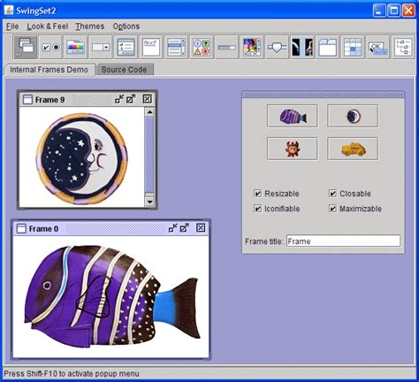 java gui themes look and feel themes in java dualfile