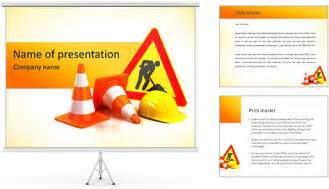 Safety Powerpoint Template by Safety Sign Powerpoint Template Backgrounds Id