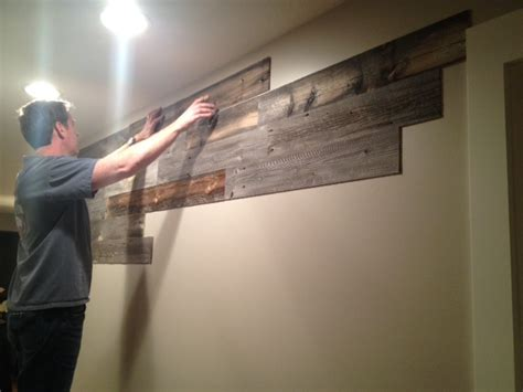 Stick On Wall by Peel And Stick Wood Wall Paneling Home Decor Like