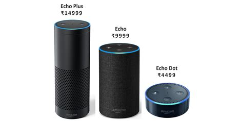 amazon echo price amazon echo speakers india launch features and pricing
