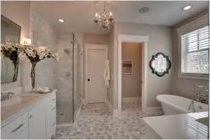 master bathroom tile designs gray counter subway tile hexagonal master bathroom