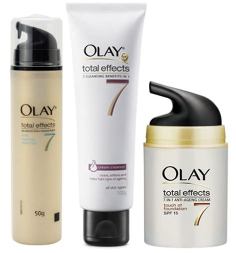 Olay Total Effect Cooling Essence olay total effects beat the heat skincare packs