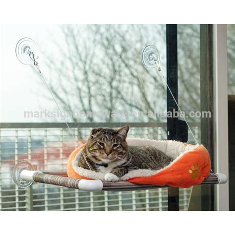 window mounted cat bed window mounted cat bed with big suction caps buy cat bed