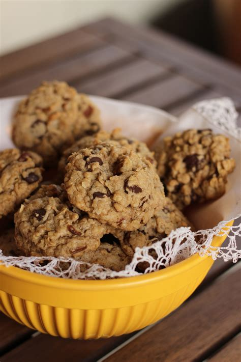 Coconut Oatmeal Cookies coconut oatmeal chocolate chip cookies recipe dishmaps