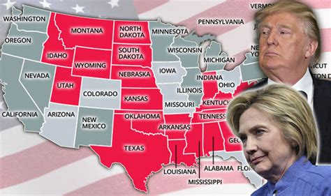 map of usa democrat vs republican us election 2016 what are the republican democrat and