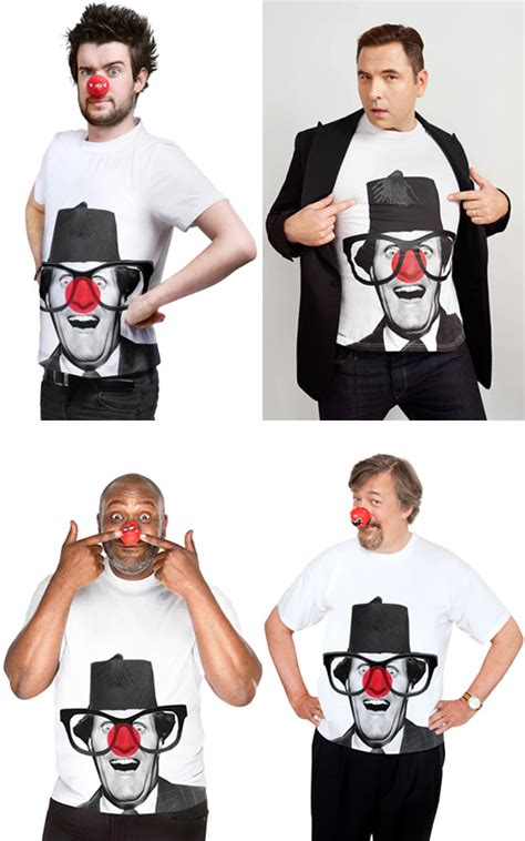 Nose Day T Shirts From Tk Maxx by Rowan Atkinson To Perform Sketch For Nose Day News