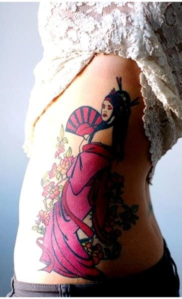 geisha beautiful tattoo geisha tattoos