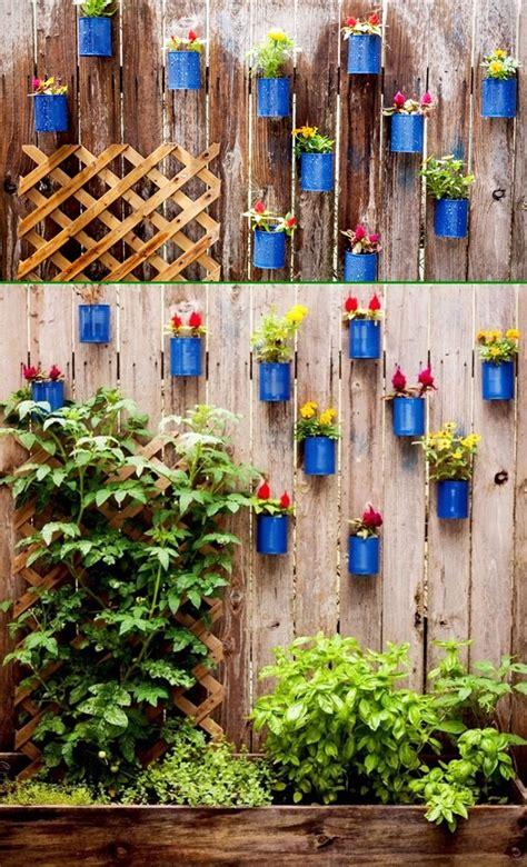 backyard garden fence decoration makeover diy ideas