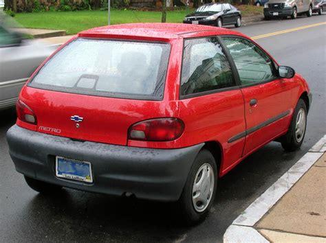 how cars work for dummies 1999 chevrolet metro regenerative braking file red 1999 chevrolet metro jpg wikipedia