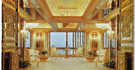 trump tower gold room donald trump apartment new york donald trump fogbow