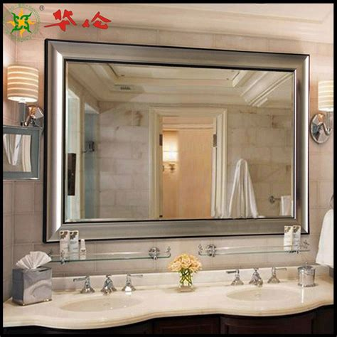 Framed Mirrors For Bathrooms Remodeling Framed Mirrors For Bathroom The Homy Design