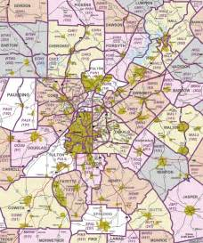 Map Of Atlanta by Atlanta Map Free Printable Maps