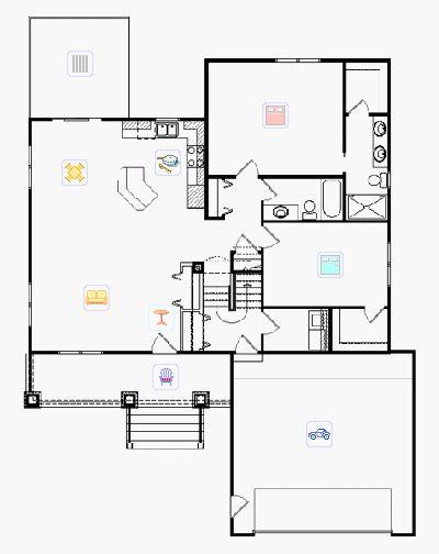 bi level house floor plans bi level house plans