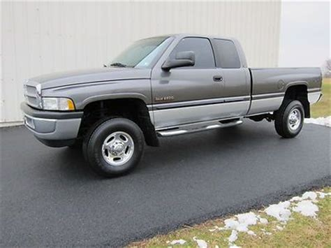 electric and cars manual 2002 dodge ram 2500 electronic toll collection find used 2002 dodge ram 2500 laramie slt 4x4 cummins diesel 6 spd manual 1 owner in