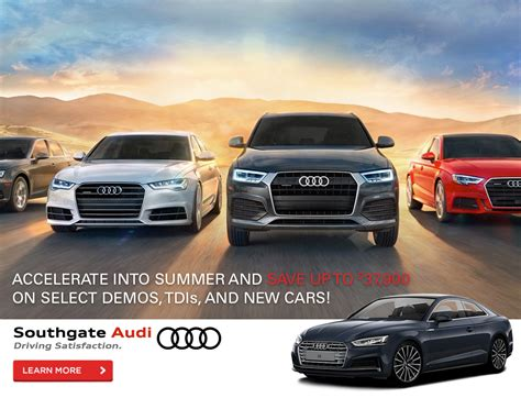 Audi Used Car Event by Southgate Audi Find New Used Audi Car Suvs Coupes