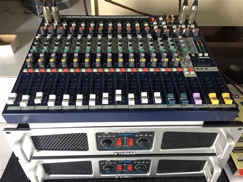 Mixer Soundcraft Efx 12 hæ á ng dẠn chá echo mixer soundcraft efx 12 lh 0934554129