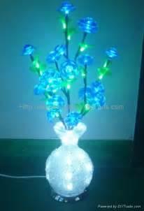 2014 novelty new led acrylic flower vase