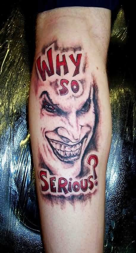 tattoo joker why so serious why so serious tattoos page 2 truetattoos