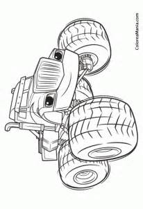 blaze coloring aj and blaze the machines coloring pages coloring