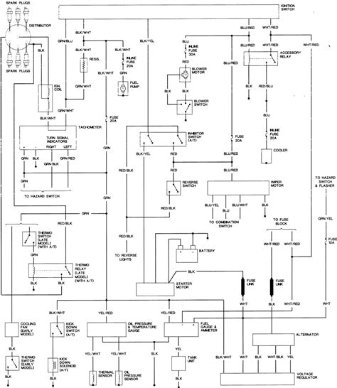 how to read a wiring diagram symbols free
