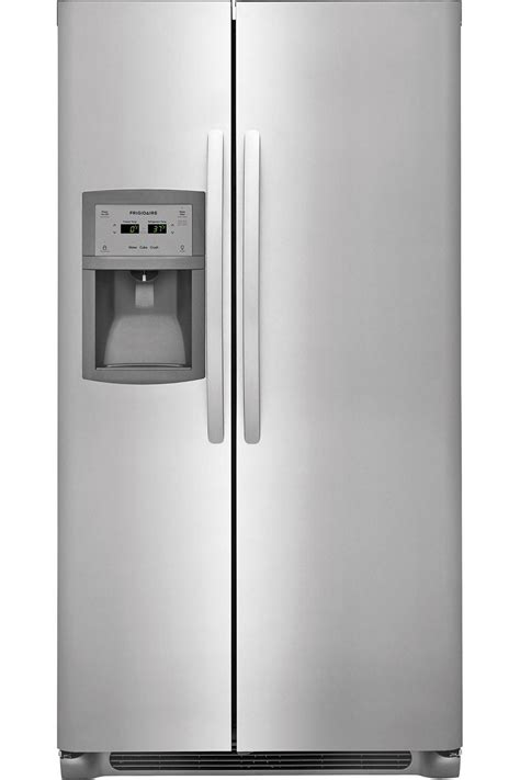 frigidaire stainless steel side  side ffscts