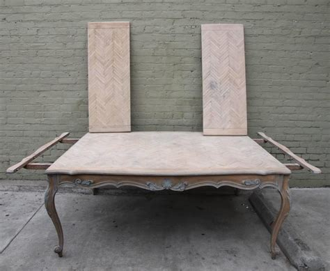 hand painted french dining table with leaves for sale at french painted louis xv style dining table w leaves for