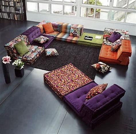 cushion flooring for bedrooms large moroccan tufted floor pillows sitting room ideas