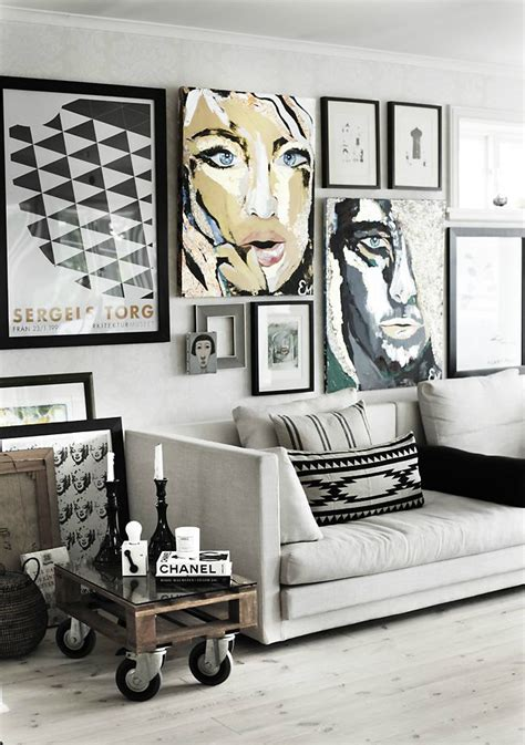 artwork home decor 21 art gallery wall ideas decoholic