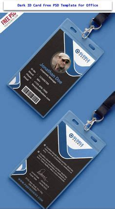 employee id card template free behance 237ed83351512d0f09efeb 600 215 410 trustus 사원증