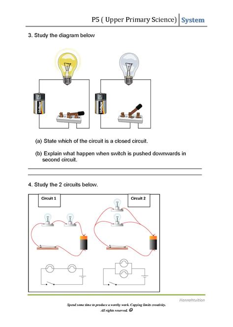electrical conductors ks2 worksheet 28 images