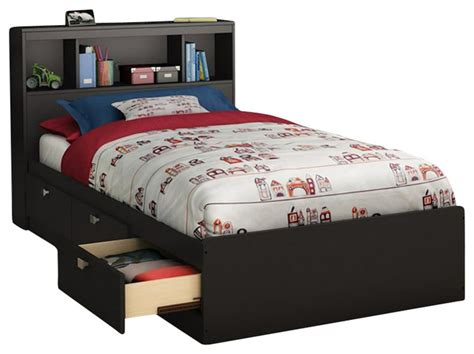 bed frames for kids south shore affinato twin mates storage bed frame only in