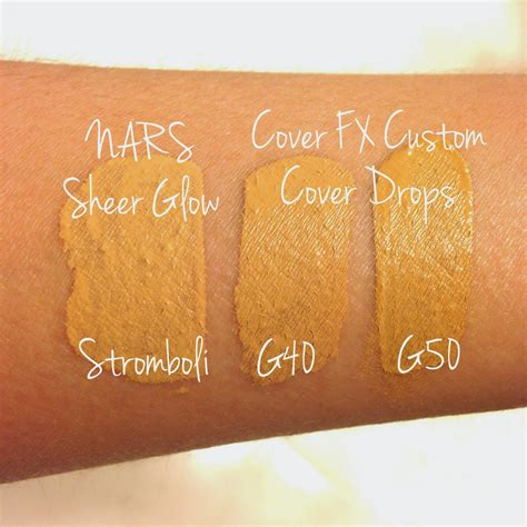 Pressed Mineral Foundation G50 cover fx pressed mineral foundation swatches