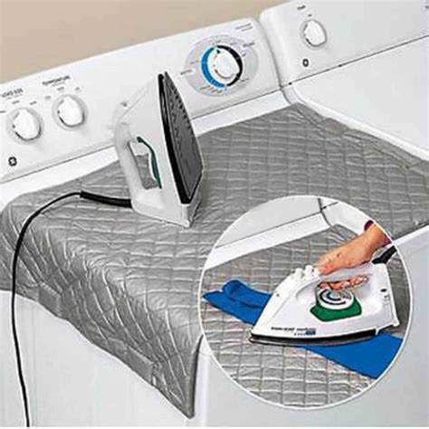 Mayitr Magnetic Ironing Mat Laundry Pad Washer Dryer Cover Covered Laundry