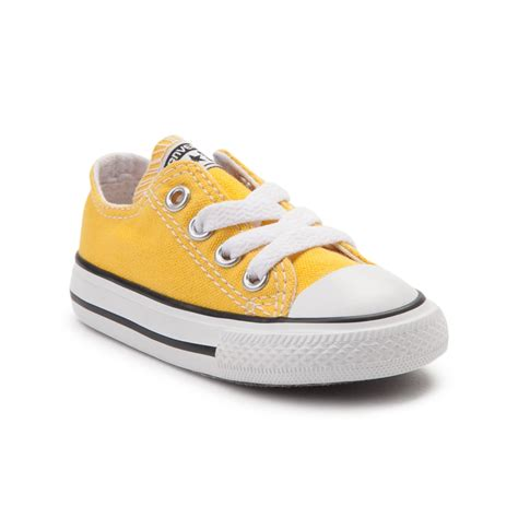 toddler yellow shoes toddler converse chuck all lo sneaker yellow