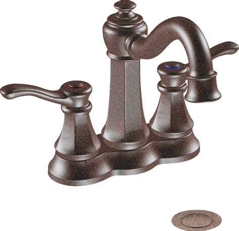 moen traditional bathroom faucet moen 6301orb oil rubbed bronze bath faucet two lever